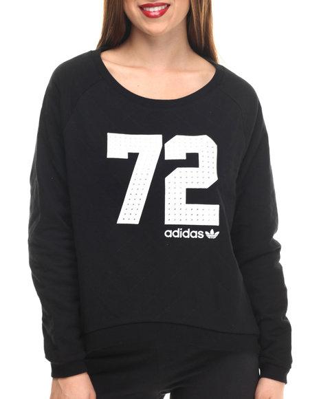 Adidas - Women Black Bling Sweater