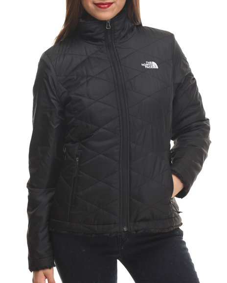 The North Face - Women Black Mossbud Swirl Insulated Jacket