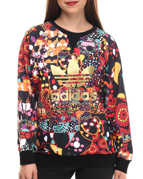 Adidas - Women Black,Multi Maracatu Sweater - $70.00