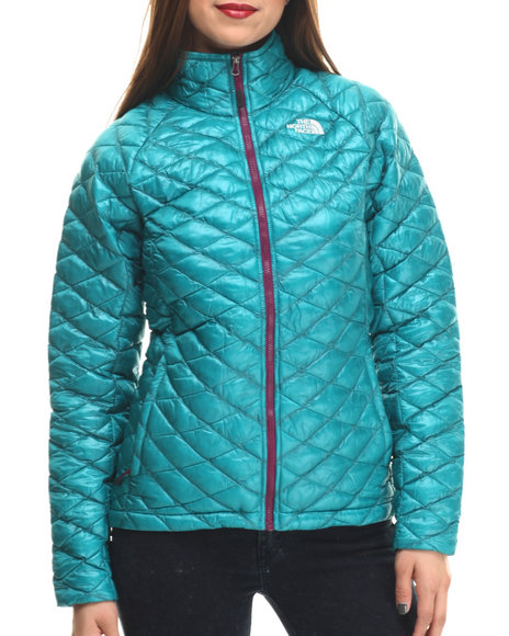 The North Face - Women Purple,Teal Thermoball Full Zip Jacket