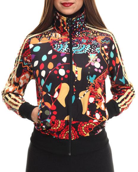 Adidas - Women Black,Multi Maracatu Firebird Track Top Jacket