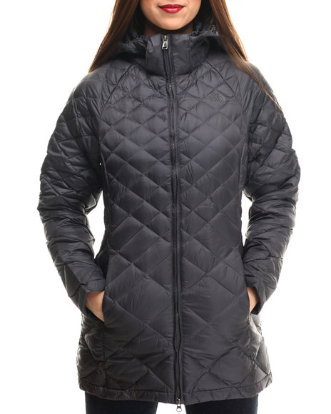 The North Face - Women Charcoal Transit Jacket