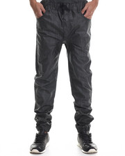 Men - Wax Coated Color Jogger Denim Jeans