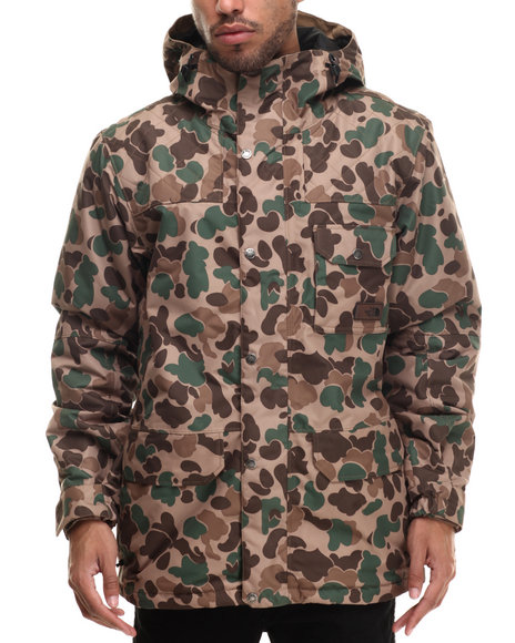 The North Face - Men Brown,Camo Faider Insulated Jacket