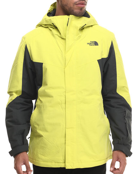 The North Face - Men Grey,Yellow Independence Jacket