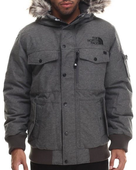 The North Face - Men Grey Gotham Jacket