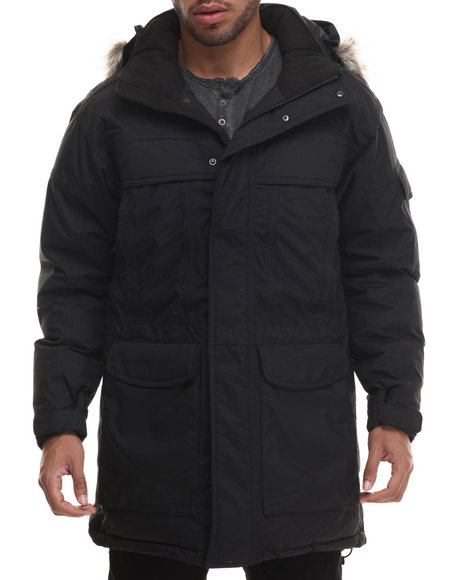 The North Face - Men Black Mcmurdo Parka