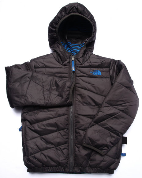 The North Face - Boys Grey Reversible Perrito Jacket(5-20)