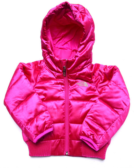 The North Face - Girls Pink Hey Mama Bomba Jacket (2T-4T)