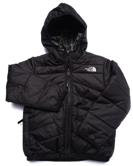 The North Face - Boys Black Reversible Perrito Jacket (5-20)