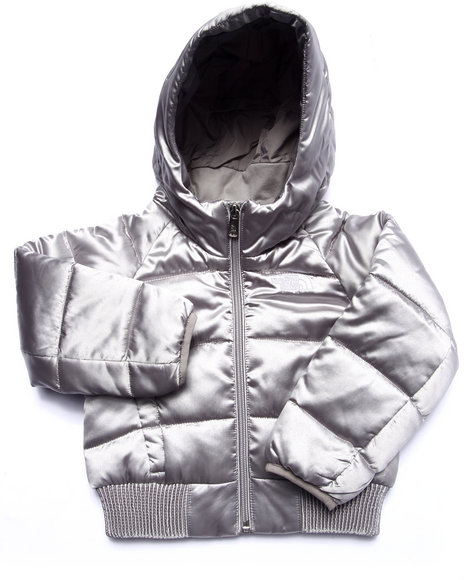 The North Face - Girls Silver Hey Mama Bomba Jacket (2T-4T)