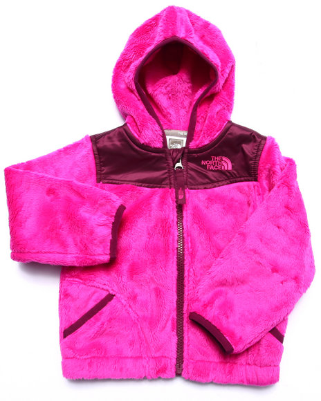 The North Face - Girls Pink Oso Hoodie (2T-4T)