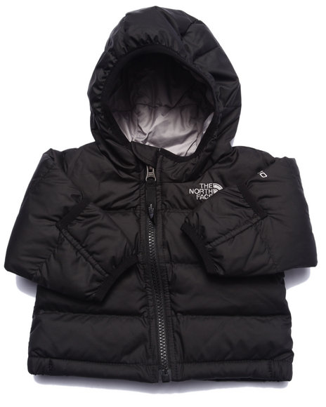 The North Face - Boys Black Nuptse Hoodie (Infant)
