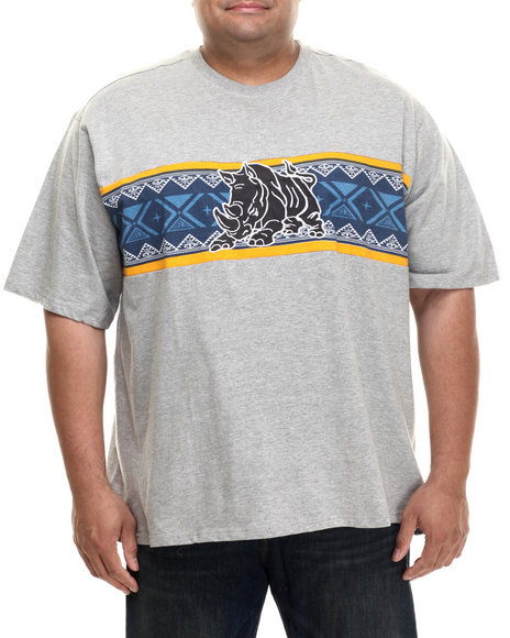 Ecko - Men Grey Piece Block T-Shirt
