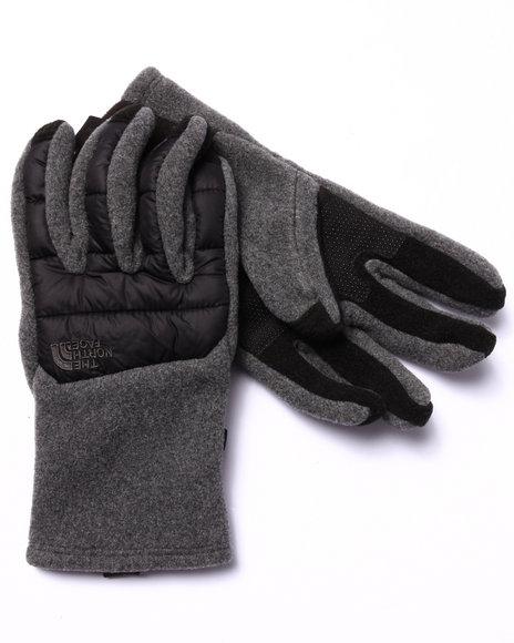 Grey Gloves & Scarves