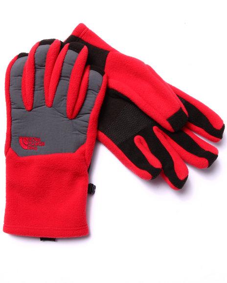 The North Face - Men Red Denali Etip Gloves