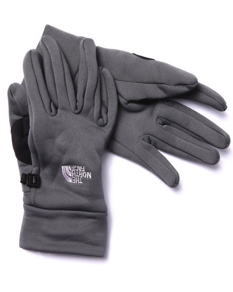 The North Face - Men Grey Powerstretch Gloves