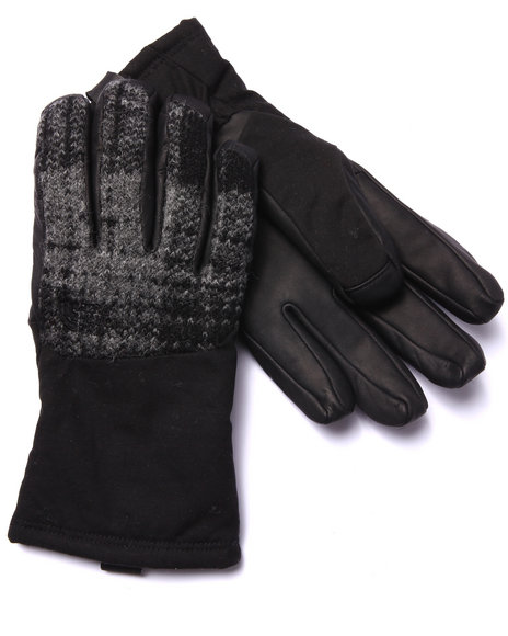 The North Face Men Denali Special Edition Wool Gloves Black Small - $33.99