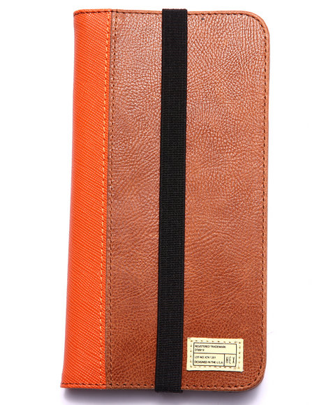 Hex Men Icon Wallet For Iphone 6 Plus Brown