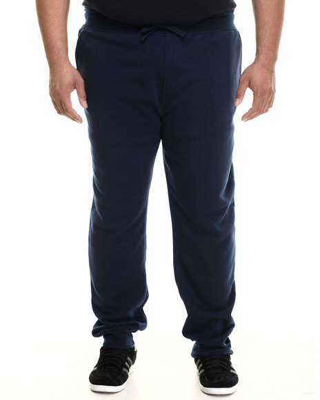 Buyers Picks - Men Navy Classic Fleece Jogger Pants (B&T)