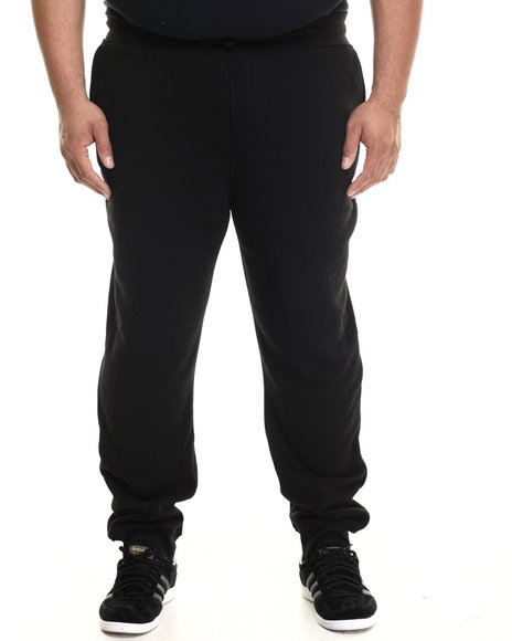 Buyers Picks - Men Black Classic Fleece Jogger Pants (B&T)