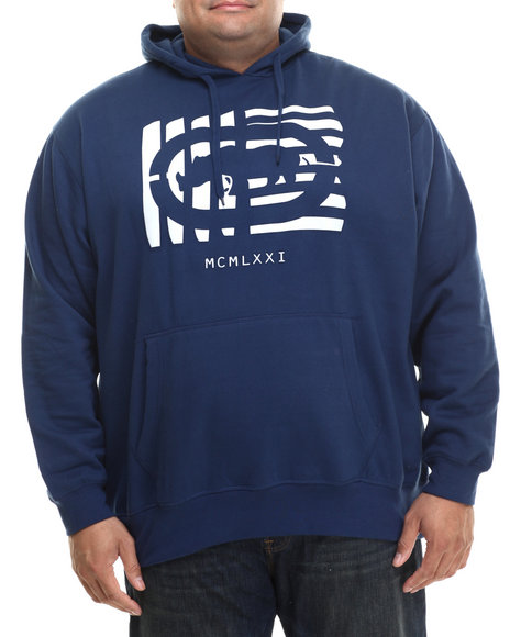 Ecko - Men Navy Shutter Outline Hoodie (B&T)