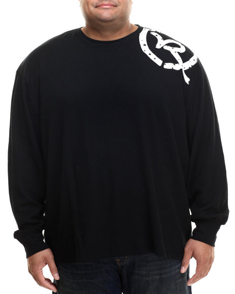 Rocawear - Men Black Classic L/S Thermal (B&T)