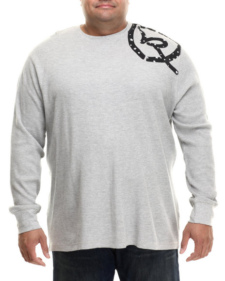 Rocawear - Men Grey Classic L/S Thermal (B&T)