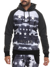 Buyers Picks - Trilled Faded Stars Sublimated Hoodie