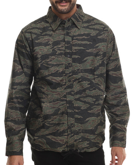 The North Face - Men Multi Fort Point Reversible Flannel Jacket