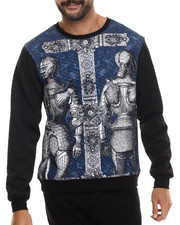 Buyers Picks - Trilled Knights Quilted Crewneck Sweatshirt