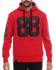 Men - NEOPRENE PATCH PULLOVER HOODY