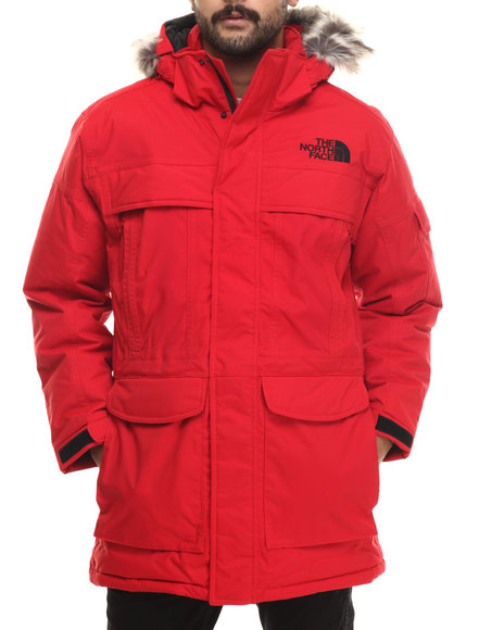 The North Face - Men Red Mcmurdo Parka