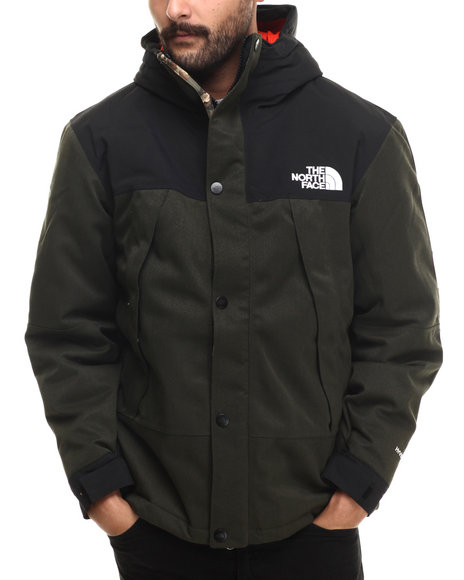 The North Face - Men Green Insulated Mountain Light Jacket