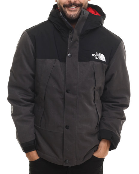 The North Face - Men Grey Insulated Mountain Light Jacket