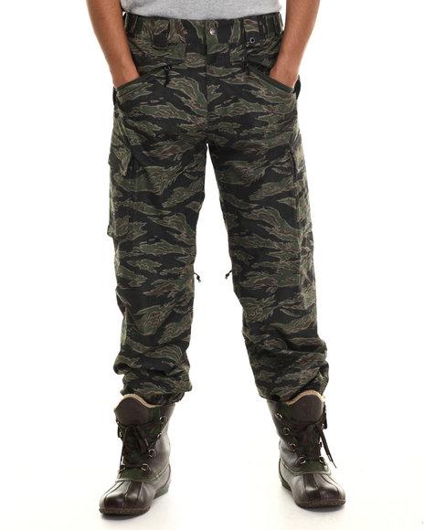 The North Face - Men Camo,Green Slasher Cargo Pants