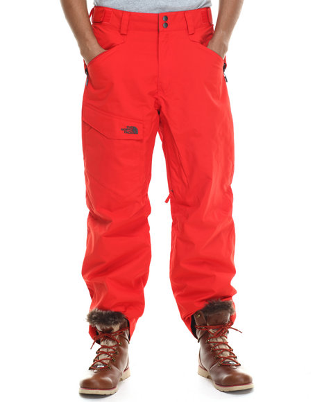 The North Face - Men Red Freedom Pants