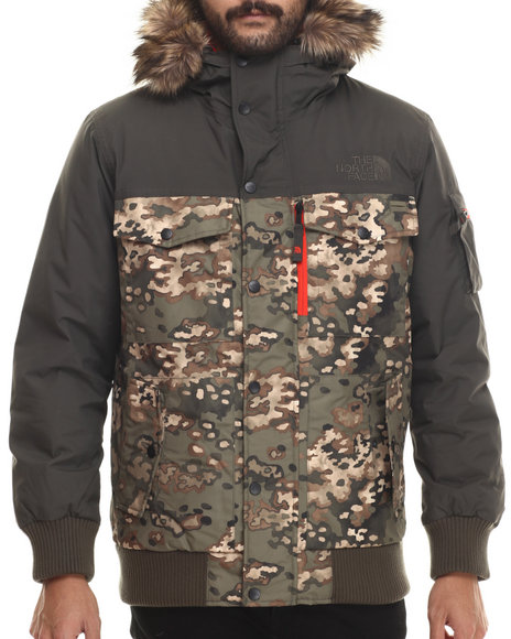 The North Face - Men Green Gotham Jacket