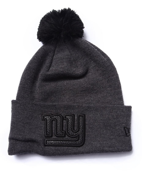 New Era - Men Black New York Giants Team Eclipse Knit Hat