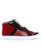 "Shoes - ""F.L."" Id Red Patent Hi Top"