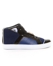 "Shoes - ""F.L."" Id Blue Patent Hi Top"