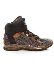 Sneakers - Nelson Leopard High Top
