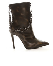 Shoes - Mina Burnished Camo Boot with Chain