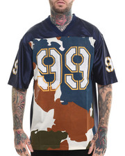 Jerseys - S/S Camo Football Jersey