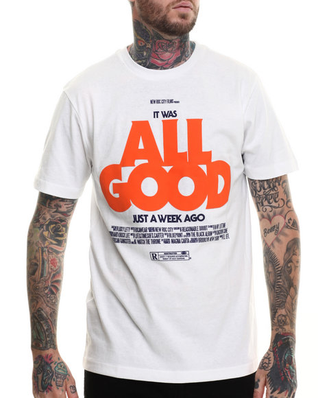 Rocawear - Men White S/S All Good Tee