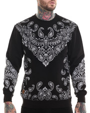 Buyers Picks - Bandana Print Fleece Sweashirt