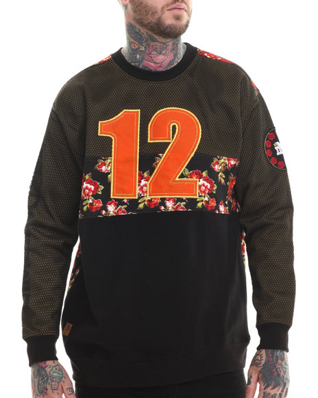 Buyers Picks - Men Black Dime A Dozen Sweatshirt