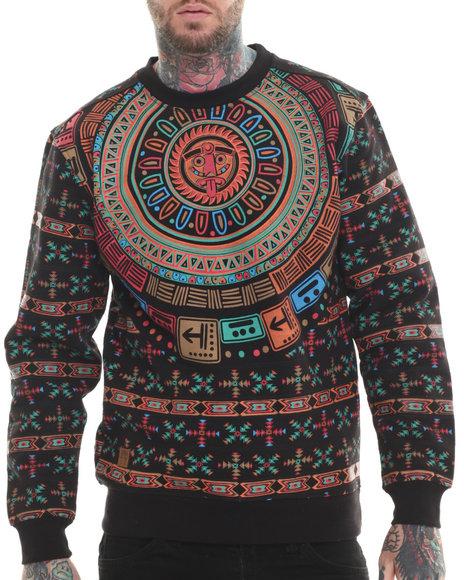 Buyers Picks - Men Multi Lost City Print Sweatshirt