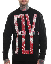 Men - Fly Bandana Print Sweatshirt
