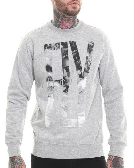 Flysociety - Men Grey Fly Girl Sweatshirt